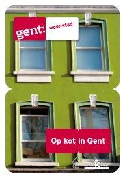 Folder Op kot in Gent - Kot@Gent
