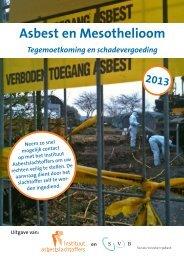 IAS Folder 2013 - Instituut Asbestslachtoffers