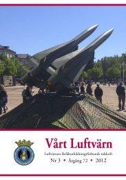 Vårt luftvärn nr 3/2012 - Lv-förbundet