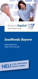 Seedfonds Bayern - Bayern Kapital