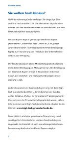 Seedfonds Bayern - Bayern Kapital - Seite 2