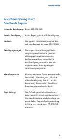 Seedfonds Bayern - Bayern Kapital - Seite 5