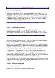 Règlement jeu concours Article 1 : Société organisatrice Materiel.net ...