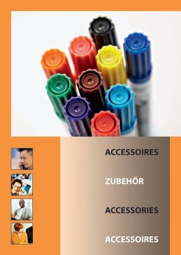 Brochure accessoires schoolborden - Brink Techniek