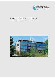 bb-nrw gb2009 - Bürgschaftsbank NRW
