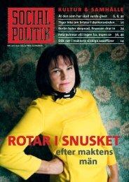 Ladda ner nr 1, 2011 av Socialpolitik, (pdf-fil)