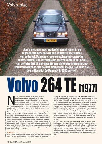 Volvo Plřs, 264 TE - Swedish Collection