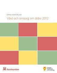 Vård och omsorg om äldre 2012 - Trosa kommun