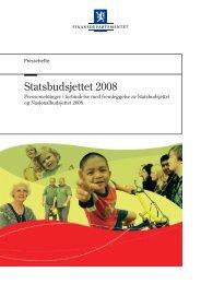 Utskriftsvennlig versjon av alle pressemeldinger - Statsbudsjettet