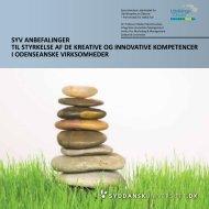 Syv anbefalinger til styrkelse af innovation i fynske ... - Udvikling Fyn