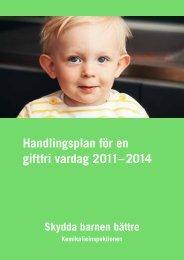 Handlingsplan för en giftfri vardag 2011–2014