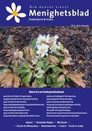 Menighetsbladet nr 3, 2013 - Flekkefjord kirke - Den norske kirke