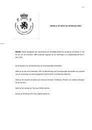 Advies aangaande het voorontwerp van Koninklijk besluit tot