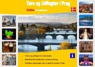 Prague (Brochure Danish) TA Scandinavian Tours EUR -