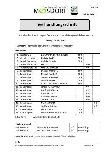 17.06.11 - FPÖ Moosdorf