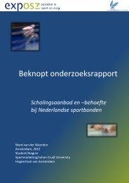 onderzoeksrapport - Exposz