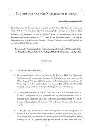Entscheidung Nr. 46/2006 - Nationalfonds der Republik Österreich ...