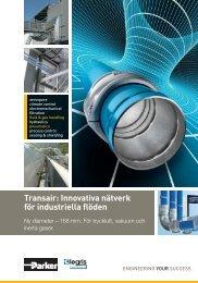 Transair: Innovativa nätverk för industriella flöden