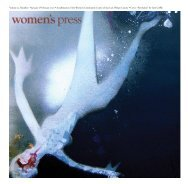 Volume 25, Number 1 • January & February 2010 ... - Women's Press