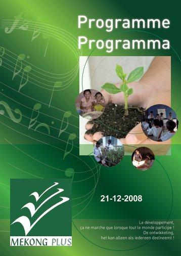 Programme Programma - Mekong Plus