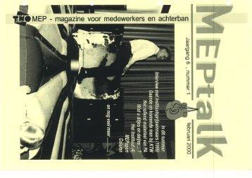 MEPtalk 2000-1 - eTNOs