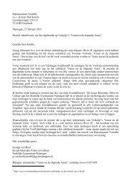 uitleg van de heer Van Hoof - Stedelijk Gymnasium Nijmegen