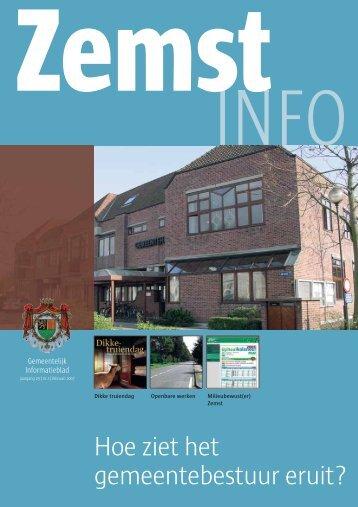 Hoe ziet het gemeentebestuur eruit6 - Gemeente Zemst