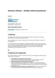 Ärftliga näthinnesjukdomar - Sveriges ögonläkarförening