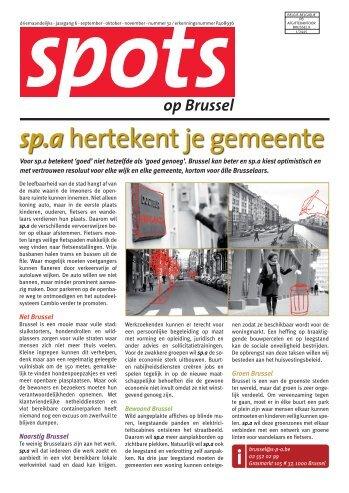 Spots op Brussel - Hannes De Geest
