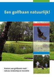 Flyer Een golfbaan natuurlijk! - Natuur en Milieufederatie Utrecht