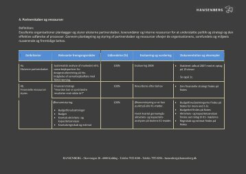4. Partnerskaber og ressourcer Definition: Excellente ... - Hansenberg