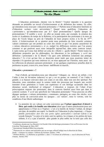 L'éducation protestante chemin vers la liberté.pdf