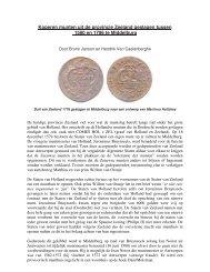 Koperen munten van Zeeland - Numismatica Herentals