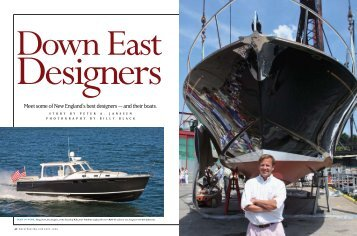 Meet some of New England's best designers — and their boats.
