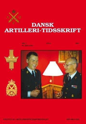 DAT nr. 2 - 2011 - Artilleriofficersforeningen