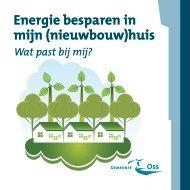 Energie besparen in mijn (nieuwbouw)huis - De Toekomst van ...