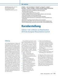 Sektion 01 - Einleitung - German Resuscitation Council