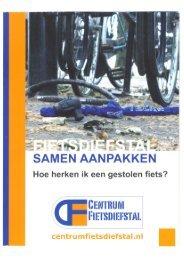 Hoe herken ik een gestolen fiets? - Centrum Fietsdiefstal