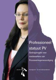 Professioneel statuut PV - IND