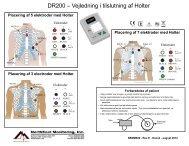 DR200 – Vejledning i tilslutning af Holter - NorthEast Monitoring, Inc.
