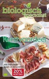 Alle Italiaanse kazen & vleeswaren KORTING - De Groene Passage