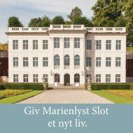 Giv Marienlyst Slot et nyt liv. - Marienlyst Slots Venner