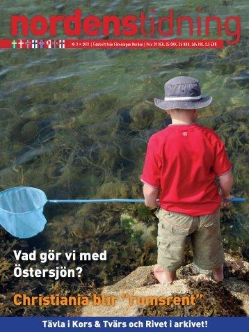 Nordens Tidning nr 3 2011 - Föreningen Norden