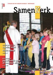 opening vindt bij de school paradijselijk oord of ... - Bisdom Haarlem