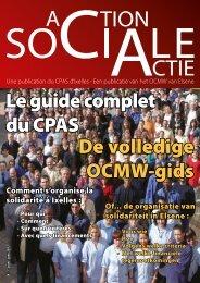 Le guide complet du CPAS De volledige OCMW-gids - OCMW van ...