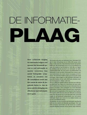 DE INFORMATIE- - Guus Pijpers