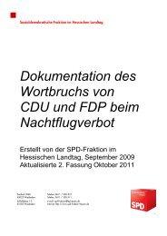Dokumentation des Wortbruchs von CDU und FDP beim ...