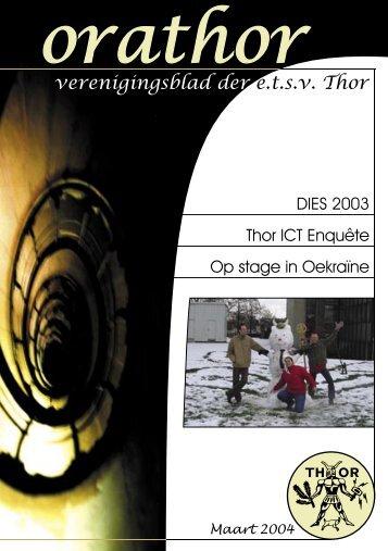 Orathor Maart 2004 - e.t.s.v. Thor