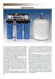 folder omgekeerde osmose.pub - Water Factory Systems
