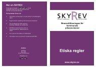 Etiska regler - Sveriges Kommunala Yrkesrevisorer